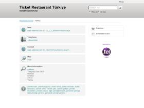 turkey.ticketrestaurant.tel