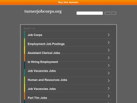 turnerjobcorps.org