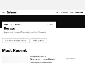 tvrecaps.ew.com