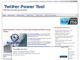 twitterpowertool.com