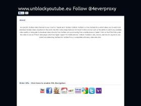 unblockyoutube.eu
