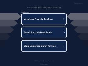 unclaimedpropertydatabase.org