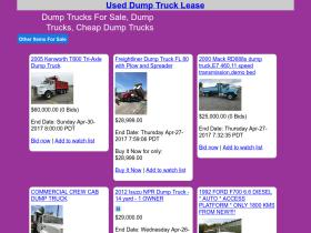 used-dump-truck-lease.net