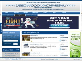 usedwoodmachines4u.co.za