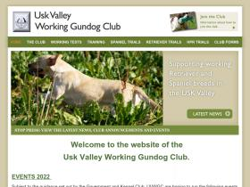 uskvalleyworkinggundogclub.co.uk