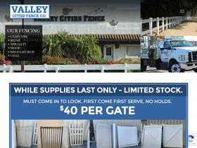 valleycitiesfence.com