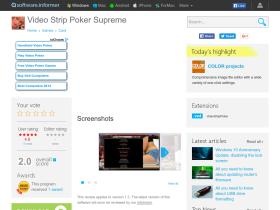 video-strip-poker-supreme.software.informer.com