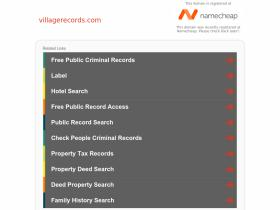 villagerecords.com