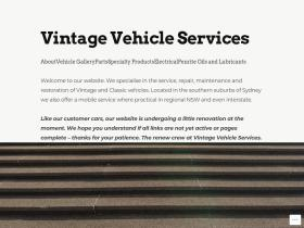 vintagevehicle.com.au
