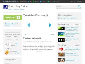 vocabulary-trainer1.software.informer.com