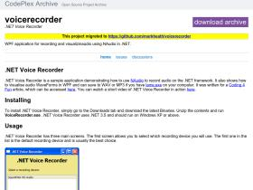 voicerecorder.codeplex.com