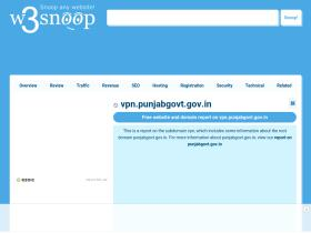 vpn.punjabgovt.gov.in.w3snoop.com