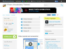vtrain-vocabulary-trainer.software.informer.com