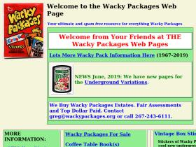 wackypackages.org