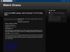 watchdrama1.blogspot.com