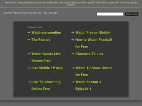 watchseriesonline-tv.com