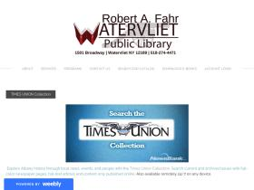 watervlietpubliclibrary.org