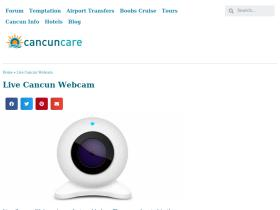 webcamcancun.com