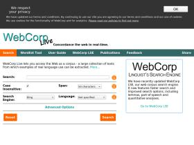 webcorp.org.uk