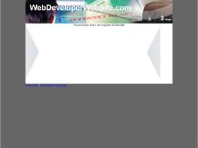 webdeveloperwebsite.com