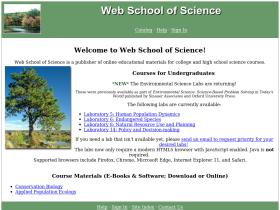 webschoolofscience.com