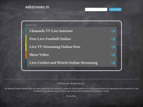webstreams.tv