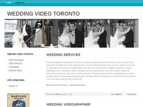 weddingvideotoronto.ca
