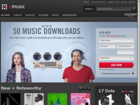 welcome.emusic.com
