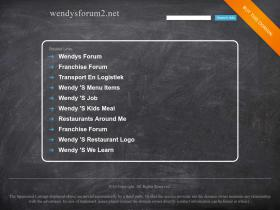 wendysforum2.net
