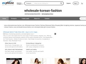 wholesalekoreanfashion12.en.ecplaza.net
