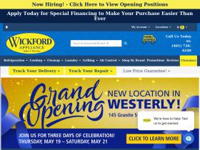 wickfordappliancenk.com