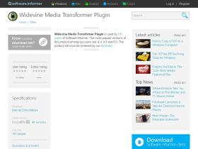 widevine-media-transformer-plugin.software.informer.com