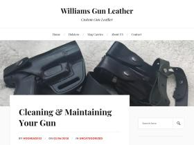 williamsgunleather.com