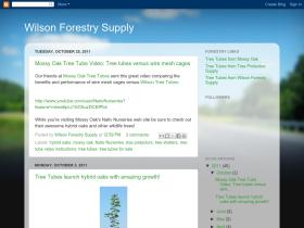 wilsonforestrysupply.blogspot.com