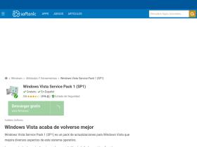 windows-vista-service-pack-1-sp1.softonic.com