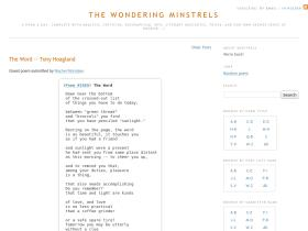 wonderingminstrels.blogspot.com