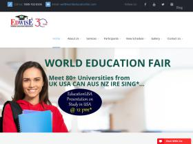 worldeducationfair.com