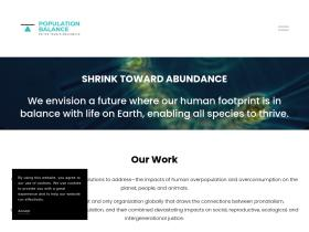 worldpopulationbalance.org