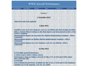 wwiiaircraftperformance.org