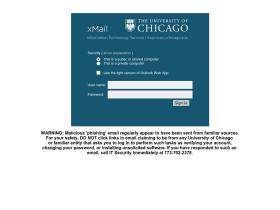 xmail.uchicago.edu