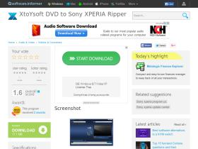 xtoysoft-dvd-to-sony-xperia-ripper.software.informer.com