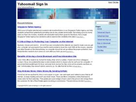 yahoomailsign.in