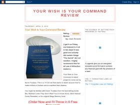 yourwishisyourcommandreview.blogspot.com