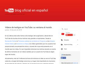 youtube-espanol.blogspot.fr
