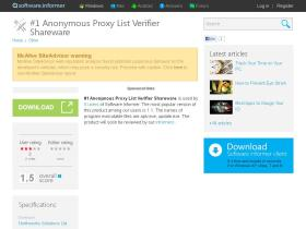 1-anonymous-proxy-list-verifier-sharewar.software.informer.com