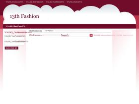 13thfashion.com