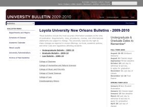 2009bulletin.loyno.edu