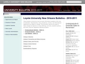 2010bulletin.loyno.edu