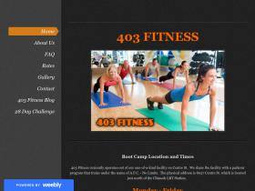 403fitness.weebly.com