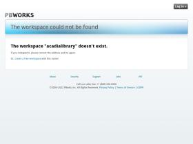 acadialibrary.pbworks.com